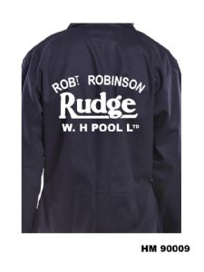 Rudge Robert Robinson Motorcycle Dealer Overalls Bolier Suit HM90009